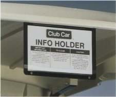 Picture of Hard plastic information holder