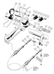 Picture of Assembly, forward and reverse shifter