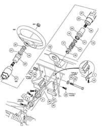 Picture of Steering Shaft Assembly
