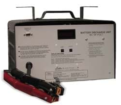 Picture of Lester Discharge Tester, 36/48-Volt. Tests Entire System. No A.C. Needed
