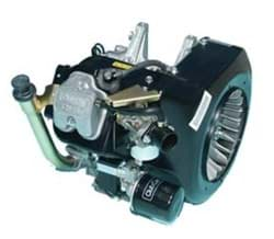 Picture of FE290 engine with counter clockwise rotation and pedal start