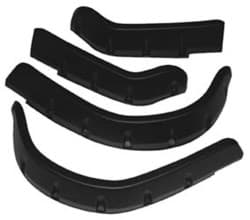 Picture of Fender Flare Set With Mounting Hardware, Black Plastic (4/Pkg)