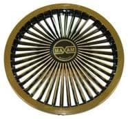 Picture of Maxam Wheel Cover Black/Gold