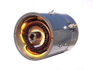 Picture of G.E. motor 36-volt (4hp@4400rpm) High speed, series