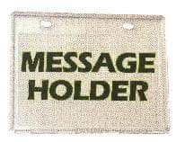 Picture of Message holder