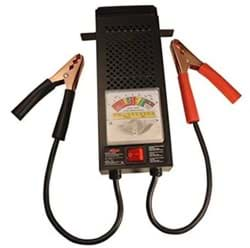 Picture of Milton battery tester for 6 & 12-volt batteries.