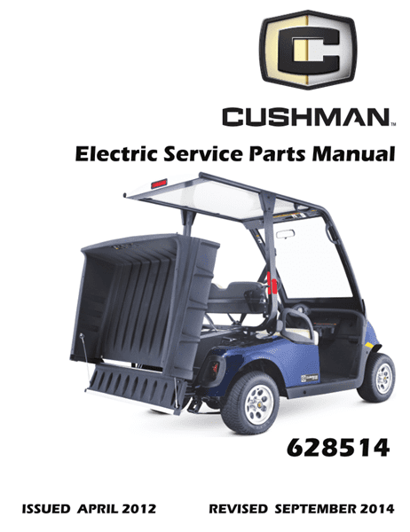 Picture of 2012 – CUSHMAN - LSV 800 - SM - All elec/utility
