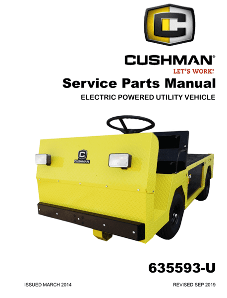 Picture of 2014 – CUSHMAN - TITAN - SM - All elec/utility
