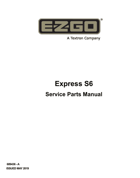 Picture of 2019 – E-Z-GO - EXPRESS S6 - SM - GAS