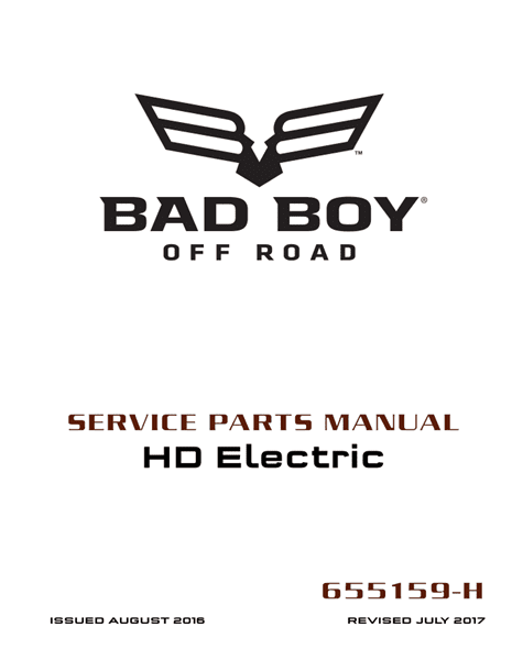 Picture of 2017 – BAD BOY - HD ELECTRIC - SM - All elec/utility