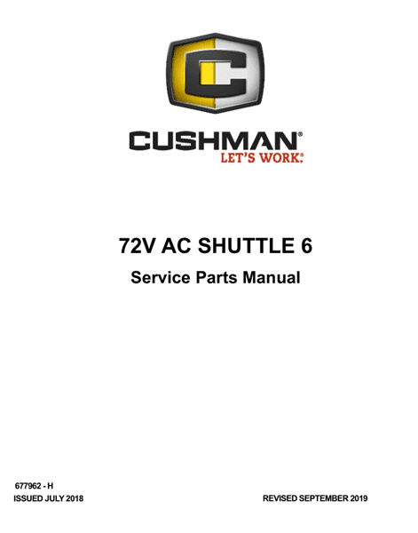 Picture of 2018 – CUSHMAN - SHUTTLE 6 72V - SM - All elec/utility