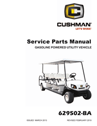 Picture of 2013 – CUSHMAN - SHUTTLE 8 - SM - GAS