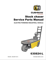 Picture of 2013 - CUSHMAN - STOCK CHASER - SM - All elec/utility