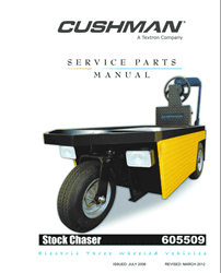 Picture of 2007 - CUSHMAN - STOCK CHASER - SM - All elec/utility