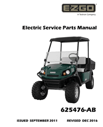Picture of 2012 - E-Z-GO - TERRAIN 1000 - SM - All elec/utility