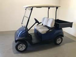 Picture of Used - 2010 - Electric - Club Car Precedent - Blue - (Refurbished) - No Batteries