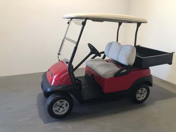 Picture of Used - 2010 - Electric - Club Car Precedent - Red - (Refurbished) - No Battery's