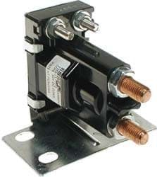 Picture of Solenoid, 36-Volt, 4 Terminal #120 Series Tower Style With Silver Contacts