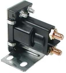Picture of Solenoid, 14-volt, 4 terminal #120 series with silver contacts